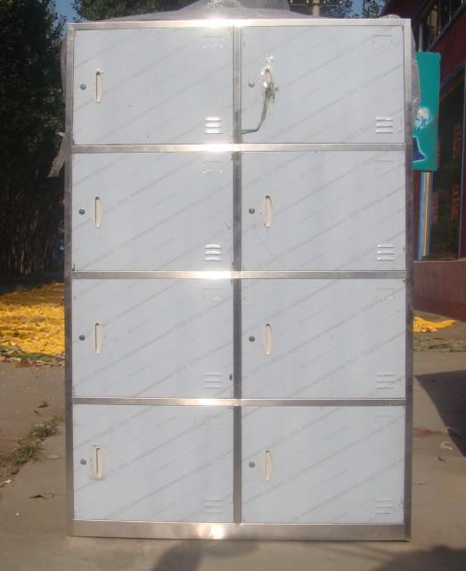 8格不锈钢餐具柜
